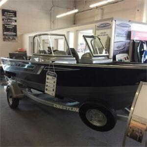 NEW 2018 CRESTLINER 1600 VISION FISHING BOAT FROM $183/MONTH!