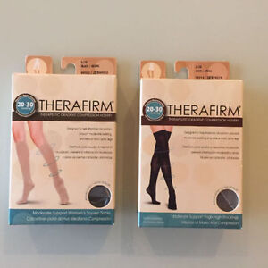 BNEW THERAFIRM COMPRESSION SOCKS