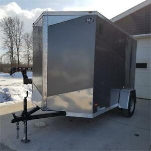 """2019 RC Trailers 6' X 10' Enclosed 6'6"""" Interior Height"""