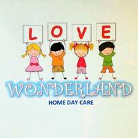 LOVE WONDERLAND DAY CARE-LICENSED-PARKRIDGE AREA