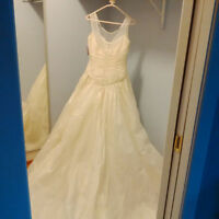 Silk Wedding Dress - never worn