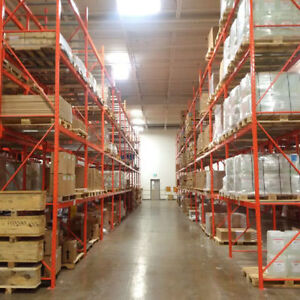 Buy & sell new and used pallet rack + other warehouse equipment