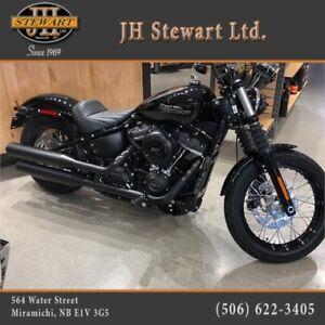 New 2018 Harley-Davidson Street Bob 107 SOLD