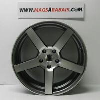 "MAG STYLE VOSSEN 20"" 5X120 STAGGERED(PLUS LARGE EN ARRIERE)"