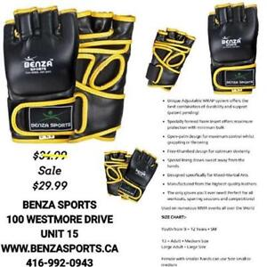 MMA GLOVES TOP QUALITY FOR SALE ONLY @ BENZA SPORTS