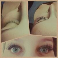 Look done up with no make up, try fuss free lash extensions!