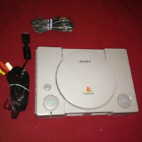 Ps1 PLaystation 1 With all cable no controller no game