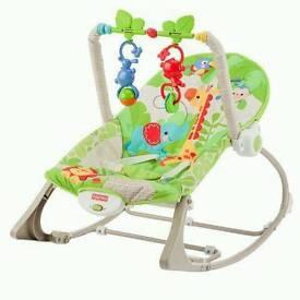 Fisher price babies rocker chair
