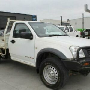 2006 Holden Rodeo RA MY06 Upgrade DX (4x4) White 5 Speed Manual Cab Chassis Mowbray Launceston Area Preview
