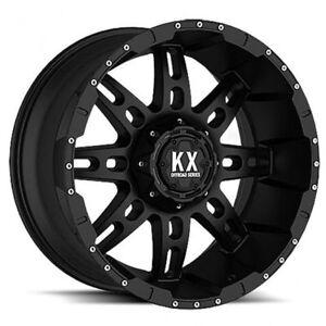 NEW!!!! 8 BOLT ALL BLACK KX CP34