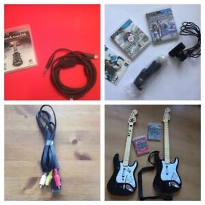 PS3 ITEMS DIVERS:ROCK SMITH-PS MOVE-FIL ETC..
