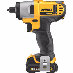 BRAND NEW DEWALT 12V MAX LITHIUM -ION MODEL : DCF815S2