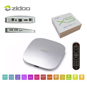 Android TV - ZIDOO X5 Android 5.1 Lollipop S905 Quad Core Stratford Kitchener Area image 2