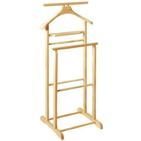 valet butler stand ebay. Black Bedroom Furniture Sets. Home Design Ideas