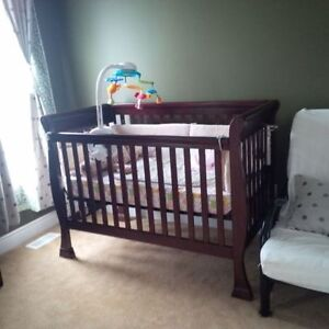 Birkdale Real Wood Crib with brand new mattress only for $280