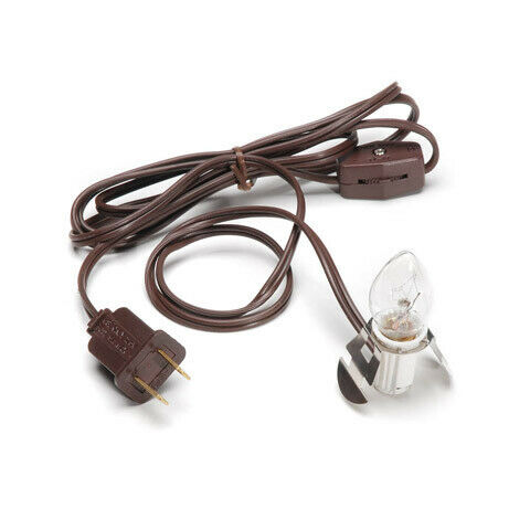 Darice Accessory Cord Brown with 1 Light, 6