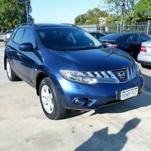 2011 Nissan Murano Z51 Series 2 MY10 TI Blue 6 Speed Constant Variable Wagon St James Victoria Park Area Preview