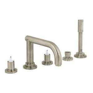 Brand New Grohe Atrio Five-Hole Bathtub Faucet with Handshower