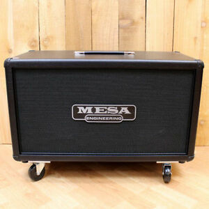 "10/10  Mesa Roadster Head and 2x12"" V30s Mesa Horizontal Cabinet Kitchener / Waterloo Kitchener Area image 6"