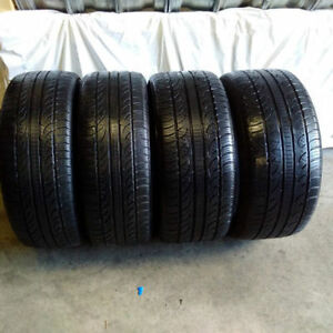 295/35R21 set of 4 Pireli Used (inst.bal.incl) 80% tread left