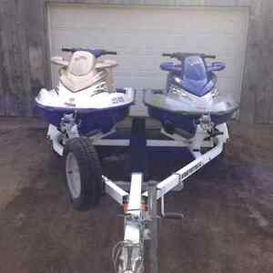 2 Seadoos/Trailer *low hours, Clean and we'll cared for.