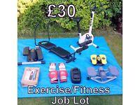 Exercise/Fitness Job Lot - £30