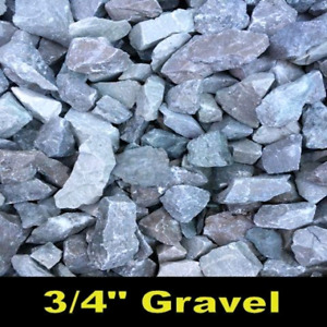 Small gravel deliveries for driveway repair