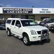2004 Holden Rodeo RA LT White 5 Speed Manual Crew Cab Pickup Wangara Wanneroo Area Preview