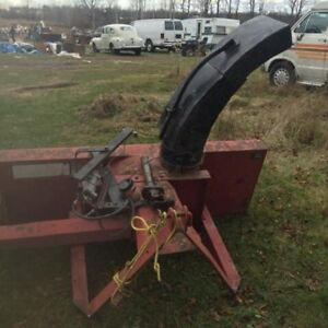 5 foot snow plow with 3 point hitch & power angle