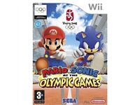 Wii GAMES: Mario & Sonic at the Olympic Games / Lego Batman