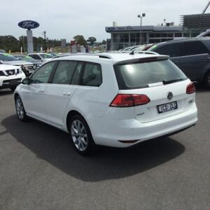 2014 Volkswagen Golf White Sports Automatic Dual Clutch Wagon