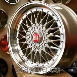 GM ESM002R BBS RS Style 18X8.5 18x9.5 5x100 5x112 (4 New wheels $750 CASH) PH 9056732828