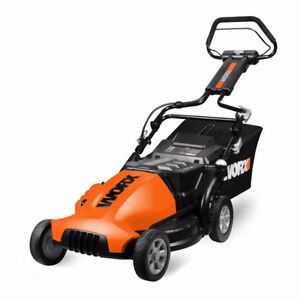 WORX ECO WG780 19-Inch 24-Volt Cordless Electric Lawn Mower