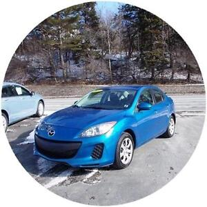 2012 MAZDA 3 SEDAN...LOADED! FINANCING AVAILABLE!! APPLY NOW!!