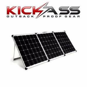 200W Portable 12v Trifold Solar Panel Kickass *Premium* Carseldine Brisbane North East Preview
