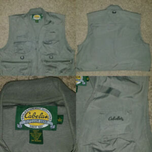Cabelas outdoors vest (large)