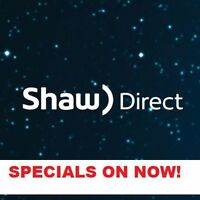 SHAW DIRECT TV - $0 NET - FREE Install - NO Credit Check
