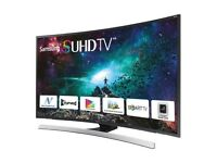 "Samsung JS8500 55"" SUHD CURVED LED TV (collection only)"