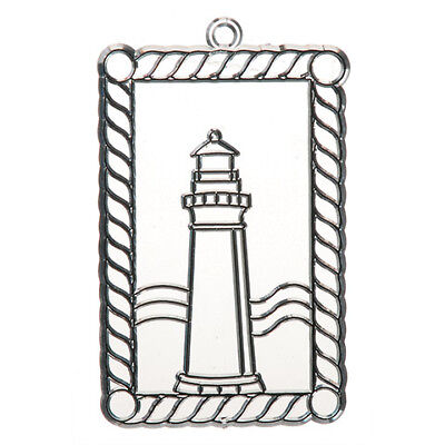 (Lighthouse Ornament Paintable Suncatcher Sun Catcher Paint Your Own )