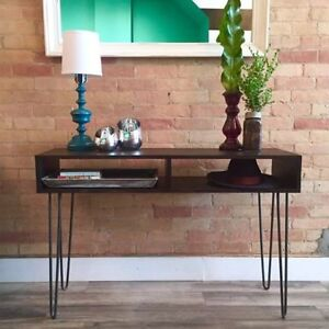 Hairpin Coffee / Desk / Console / Dining Table / Bench / Stool Kitchener / Waterloo Kitchener Area image 4