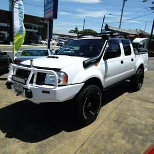 2012 Nissan Navara D22 Series 5 ST-R (4x4) White 5 Speed Manual Dual Cab Pick-up Croydon Burwood Area Preview