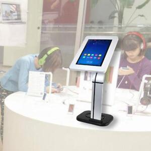 PYLE PSPADLK14 Universal Tabletop Tamper-Proof Anti-Theft iPad Tablet Kiosk counter top Stand Holder for Public Display