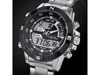 Fashion Sports Quartz LED watch