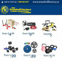 Canada's #1 FITNESS EQUIPMENT SUPERSTORE! The Treadmill Factory!