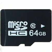 Brand new 64GB Micro SD card with Adapter **Never Opened**