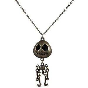 Carving Skull Robot Sweater Chain