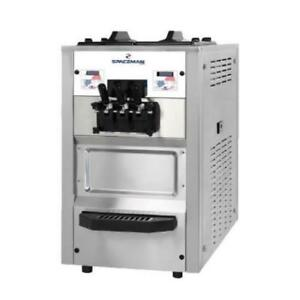 Soft Serve Ice Cream Machine with 2 Hoppers . *RESTAURANT EQUIPMENT PARTS SMALLWARES HOODS AND MORE*