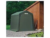 Clarke CIS88 Easy assembly Motorcycle Storage Garden Shelter Shed 2.4x2.4x2.4m