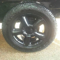 new 20 inch Rims and Tires