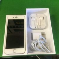[SpeedJobs] iPhone 6, 128G, Unlocked, All Accessories with box